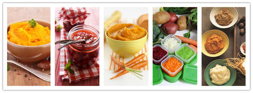 fruit vegetable paste