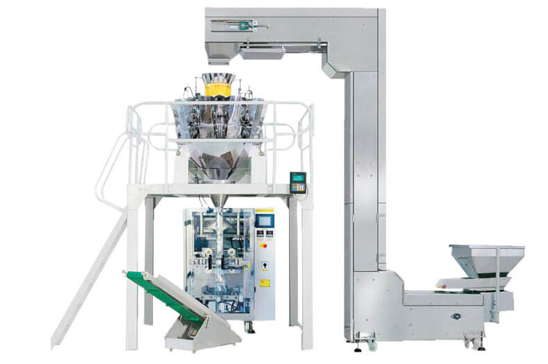 automatic vegetable packing machine