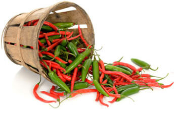 chili peppers for cutting
