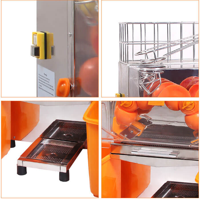structure details of best orange juice machine