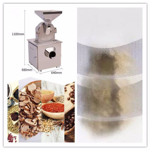 dry type material grinder machine for sale