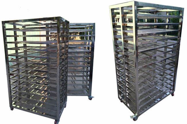industrail fruit drying equipment trolley