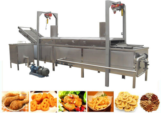 industrial garlic frying machine for sale
