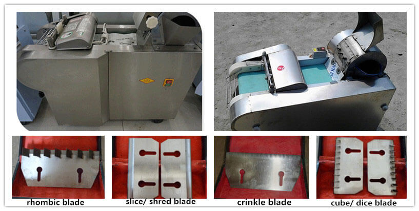 blades of multifunctional vegetable cutter machine sale online