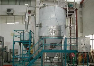 vegetable powder spray drying machine