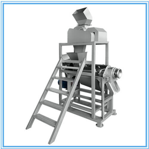 fruit juicer with crusher