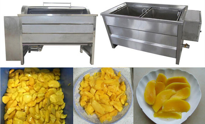 mango blaching process
