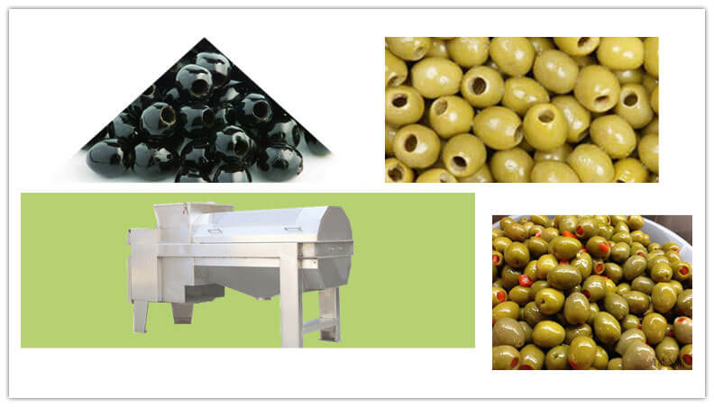 olive pitting machine for destoning olives