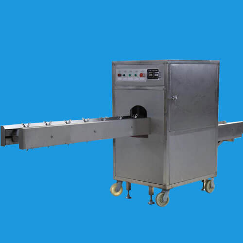 automatic onion root cutting machine