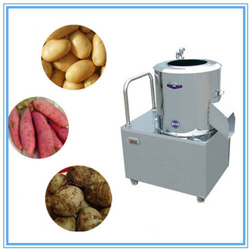 commercial potato peeler machine