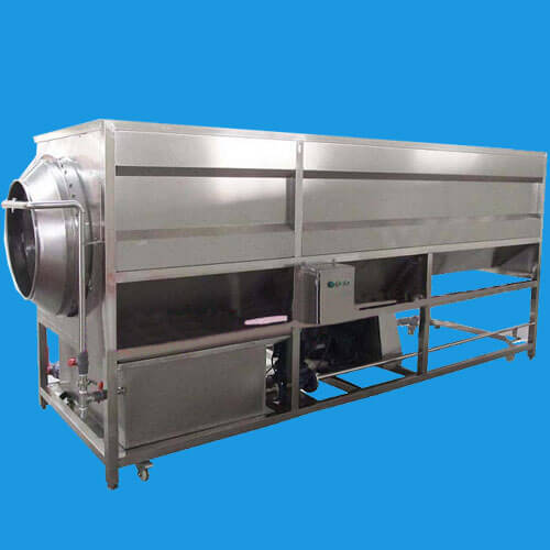 drum type vegetable fruit washing machine