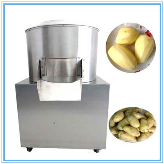 industrial potato peeler machine