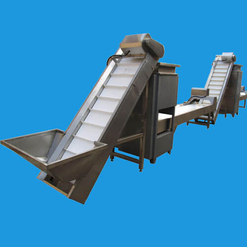 garlic peeling processing line
