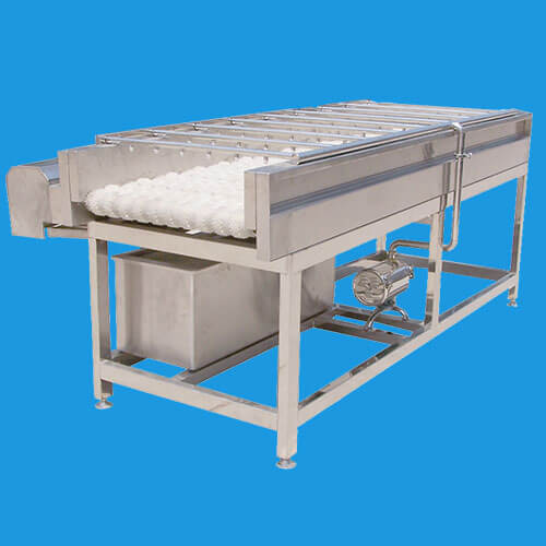 single deck vegetable cleaning machine