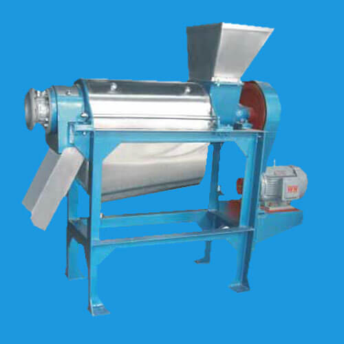 sprial fruit juice making machine