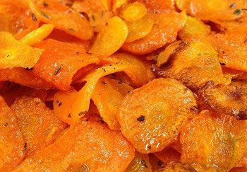 fried carrot chips processing